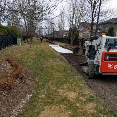 Constructing a pathway for the city of Saskatoon