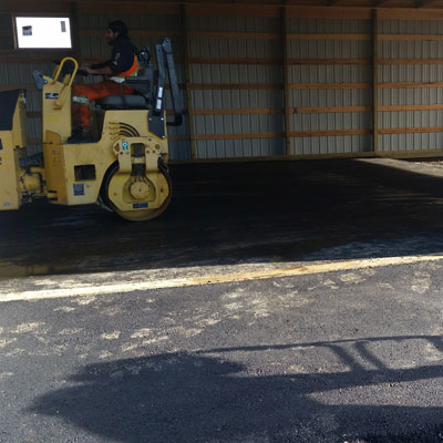 Paving inside a shop north of Colonsay